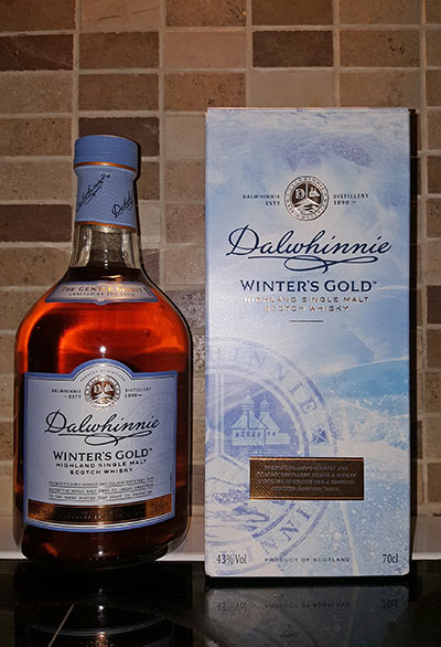 Dalwhinnie Winter whisky for the freezer
