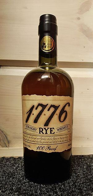 James E. Pepper 1776 Straight Rye