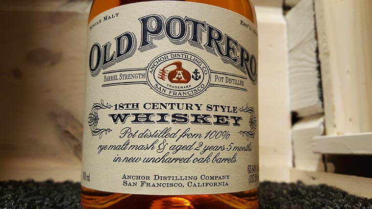 Old Potrero 18th Century Style Rye Whiskey Review