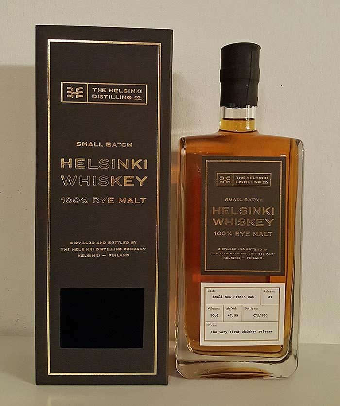 Helsinki Rye Whiskey - 1st Batch by Helsinki Distilling Company