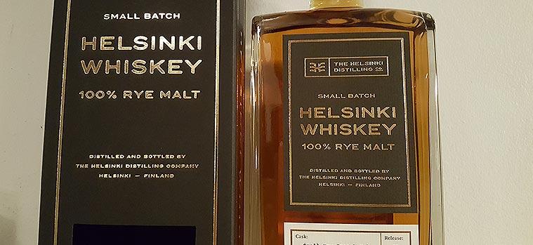 Helsinki Distilling Company's 100% Rye Malt