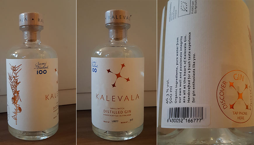 Kalevala Dry Gin Review - Small Batch Distilled Gin from Finland