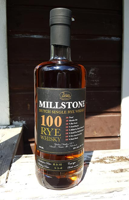 Millstone 100 Dutch Single Rye Whisky Review