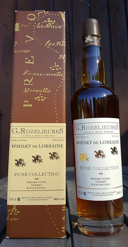 G. Rozelieures Fume Collection Single Malt Whisky Review