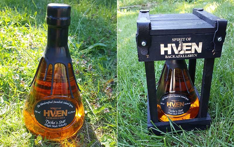Spirit of Hven Distillery's Single Malt Whisky Tycho's Star