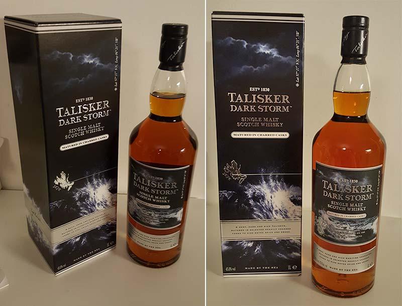 Talisker Dark Storm Single Malt Whisky Review