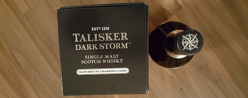 Talisker's Dark Storm Whisky Matured In Charred Oaks