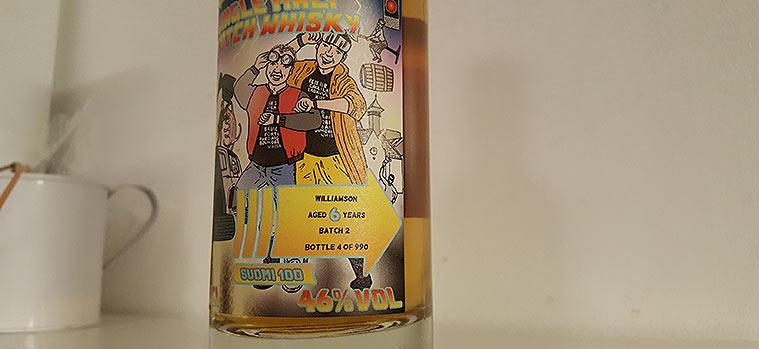 Williamson 6YO whisky review