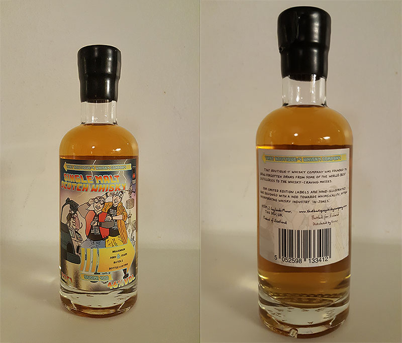 Review of Williamson 6 Year Old by That Boutique-y Whisky Company