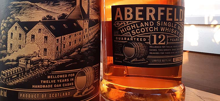 Aberfeldy 12 Year Old Whisky