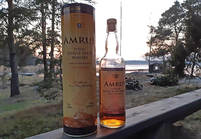 Cask Strength Amrut Single Malt Whisky Review