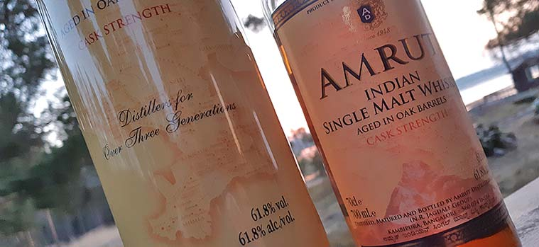 Amrut Single Malt Cask Strength