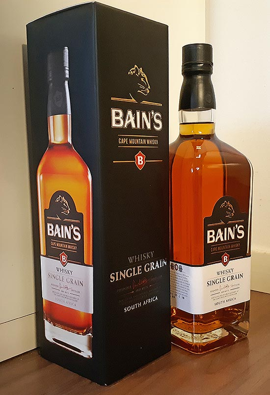 Bain's Cape Mountain South African Single Grain Whisky Review