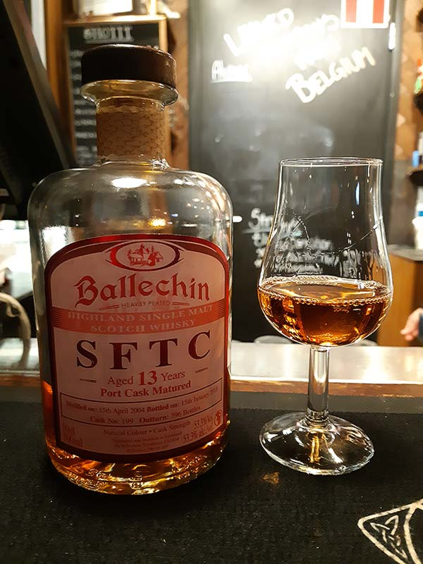 Ballechin 13 Year Old 2004 Port Matured SFTC - Straight From The Cask. Review of cask no. 199