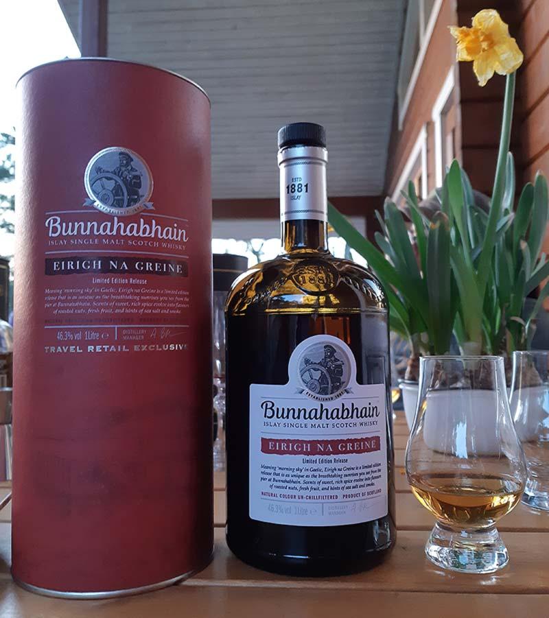 Bunnahabhain Eirigh Na Greine Single Malt Whisky Review