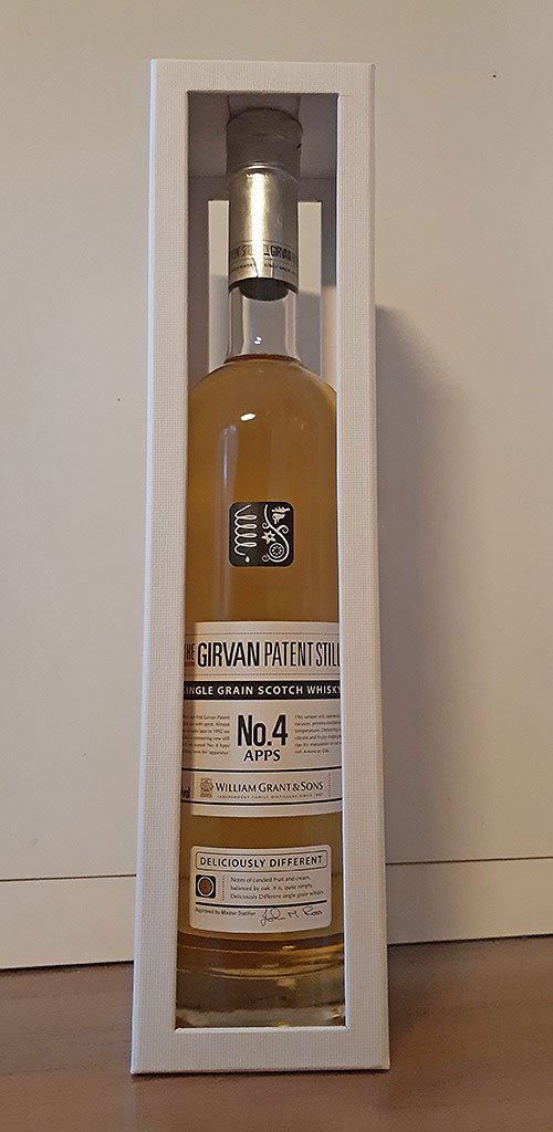 Single Grain Whisky - Girvan Patent Still No.4 Apps Review