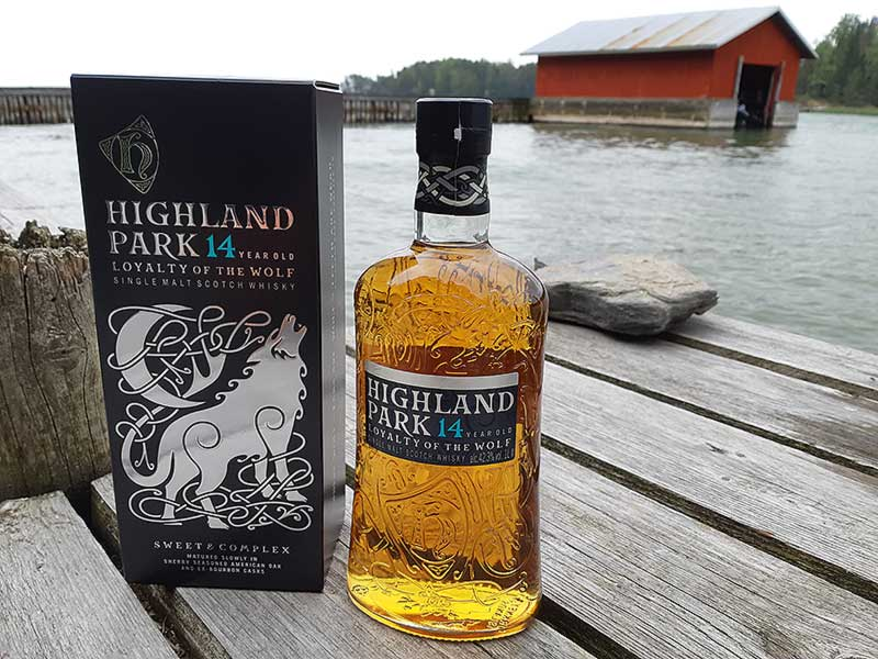 Highland Park 14 Year Old Loyalty Of The Wolf Single Malt Whisky