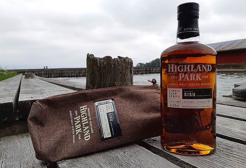 Sisu Single Cask Highland Park for Finnish retail market