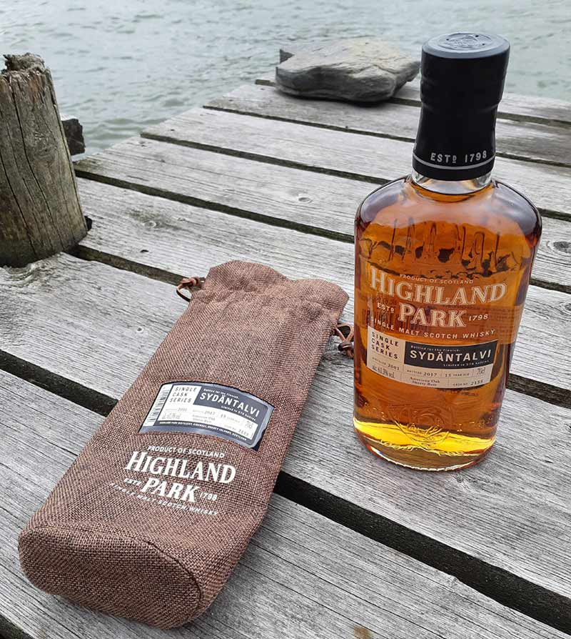 Sydäntalvi 15 year old Highland Park Single Cask & Cask Strength