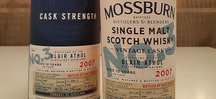 Mossburn Blair Athol 10YO Review