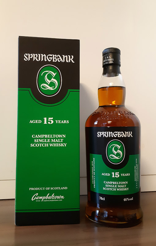Springbank 15 Year Old Single Malt Whisky Review