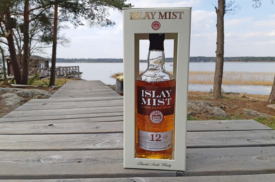 Islay Mist Blended Scotch Whisky the 12 years old