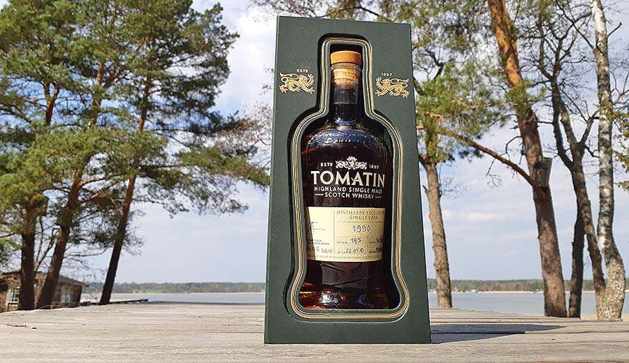 Tomatin 27 Year Old Single Cask Whisky Review