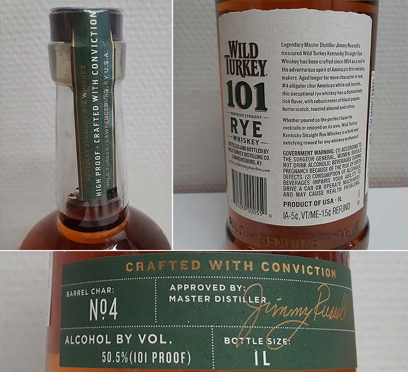 Wild Turkey 101 Kentucky Straight Rye Whiskey Review