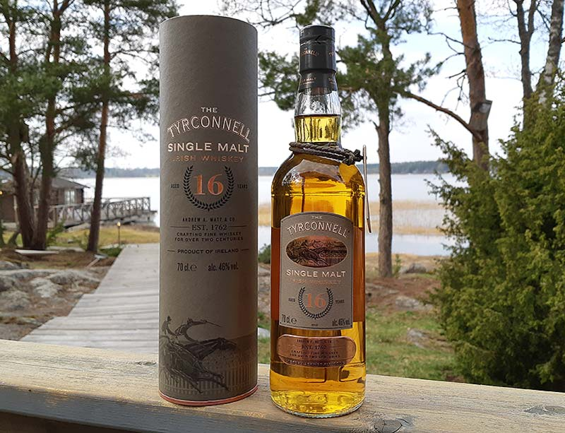 Tyrconnell 16 Year Old Irish Single Malt Whiskey Review