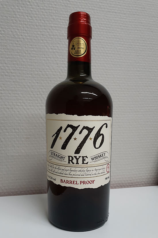 1776 Barrel Proof James E. Pepper Rye Review