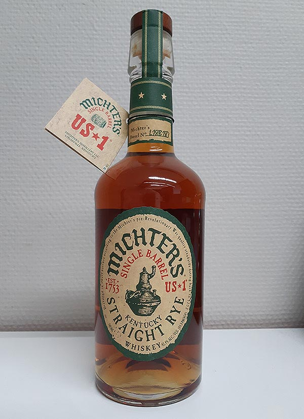 Michter's US*1 Single Barrel Straight Rye Whiskey Review