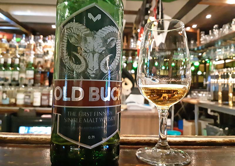 Old Buck 7 year old single cask Finnish malt whisky