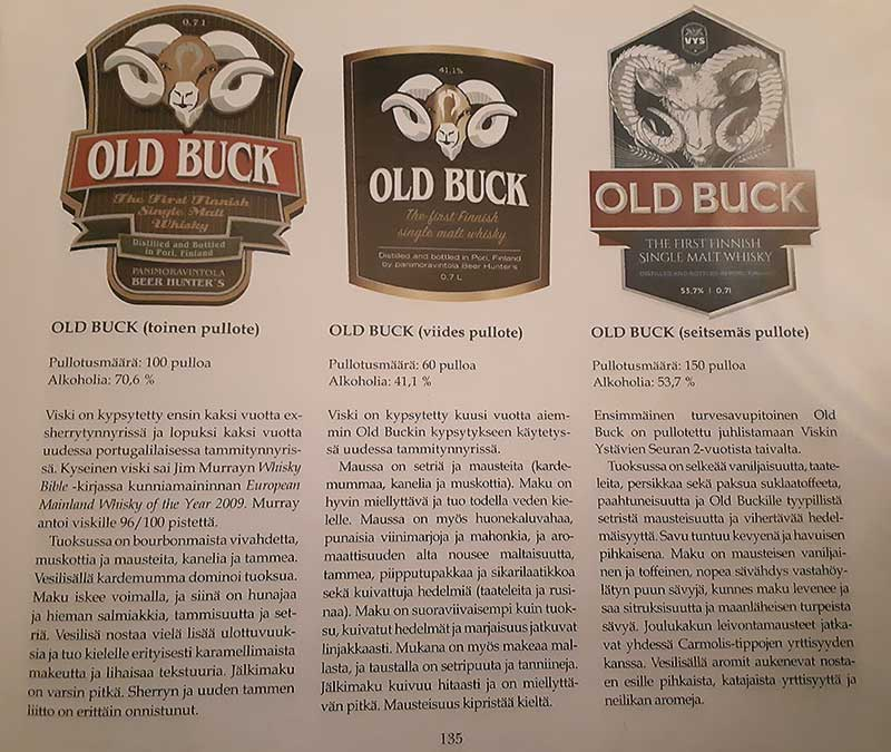 Old Buck small batch single cask editions