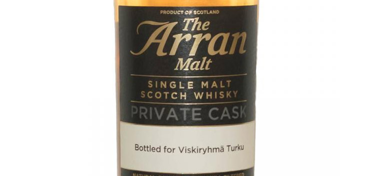 Arran Private Cask bottling