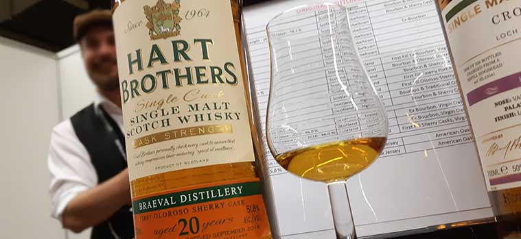 Braeval 20 Year Old Cask Strength by Hart Brothers