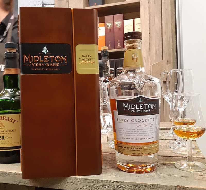 Midleton Barry Crockett Legacy Irish Whiskey Review - Very Rare Collection