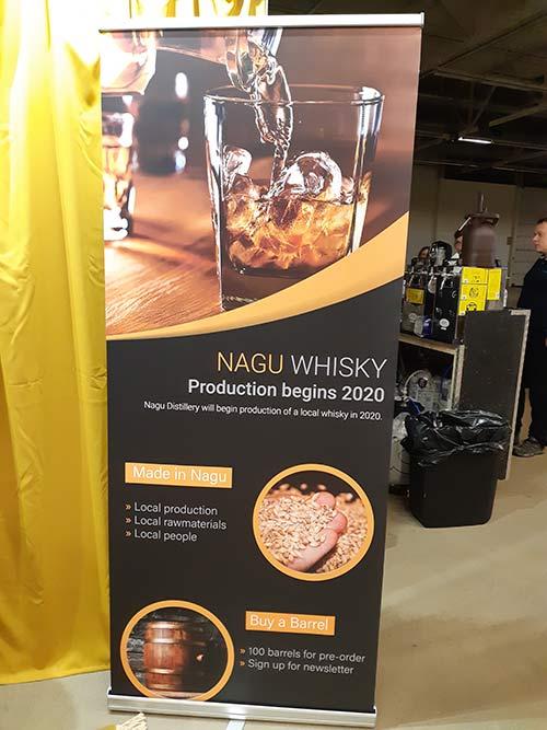 Nagu distillery at Turku Beer and Whisky Festival 2019