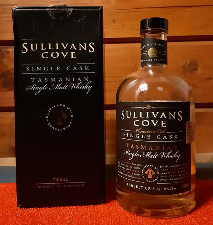 Sullivans Cove American Oak Single Cask review - Distilled 2019