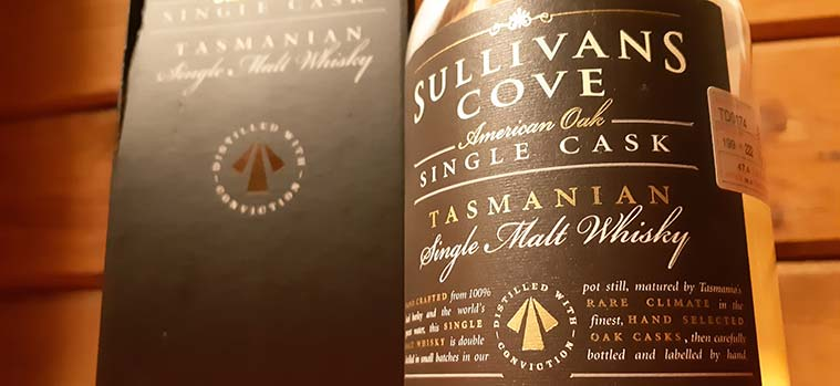 Sullivans Cove American Oak Single Cask Review
