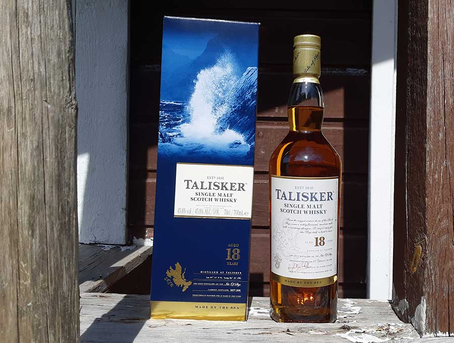 Talisker 18 year old single malt whisky review