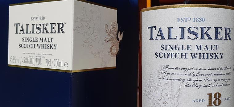 Talisker 18 year old review
