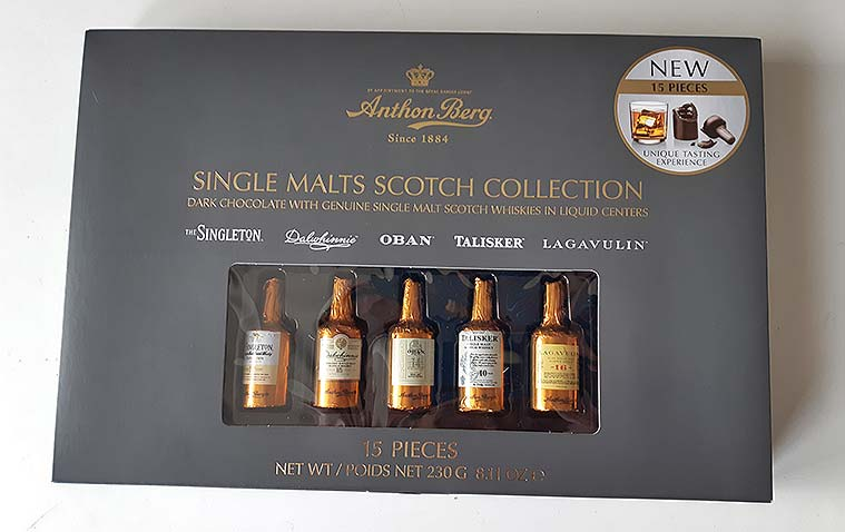 Single Malts Scotch Collection by Anthon Berg