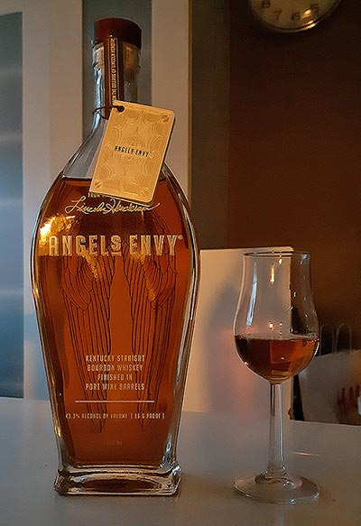 Angel's Envy Port Wine Barrel Finished American Bourbon Whiskey