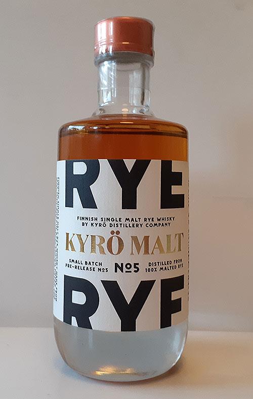 Kyrö Single Malt Rye Batch 5 Review