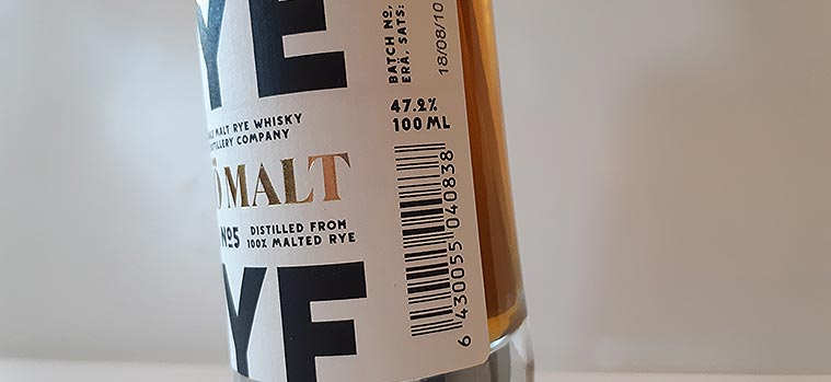 Kyrö Single Malt Rye pre-release 5