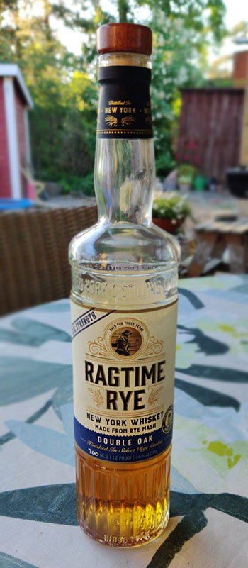 Ragtime Rye Cask Strength Whiskey - Double Oak