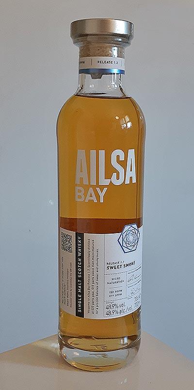 Ailsa Bay Sweet Smoke Release 1.2 Single Malt Whisky