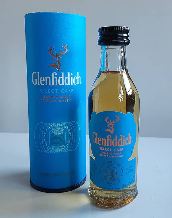 Glenfiddich Select Cask Single Malt from their Travel Retail Cask Collection
