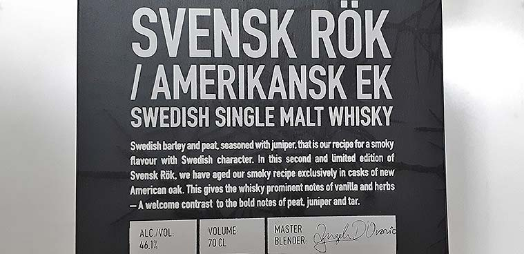 Mackmyra Swedish Smoke American Oak