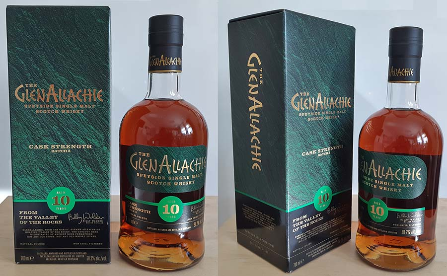 GlenAllachie 10 Year Old Cask Strength - Batch 3